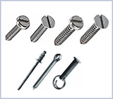 Bolts, screws and fixings