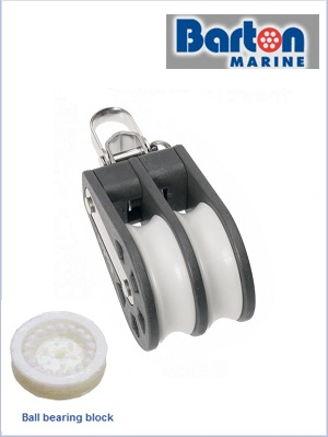 Double BB reverse shackle block (max 10mm) size 3
