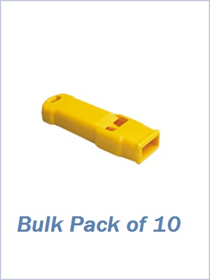 Plastic Whistle - Bulk Pack of 10