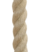 24mm - 3 strand fine polypropylene (imitation hemp)