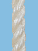 24mm - 3 strand Staple polypropylene (white)