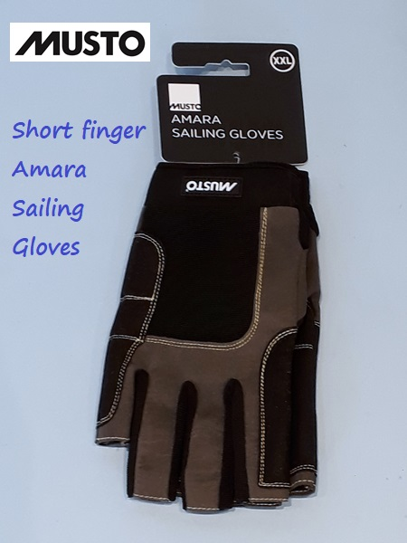 Short finger Amara sailing gloves -  XXL only