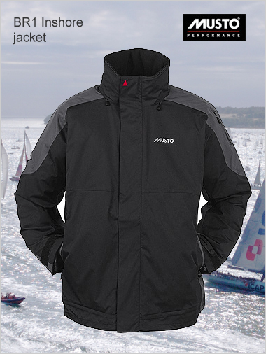 BR1 Inshore jacket - Black / dark grey (only 2XL now left)