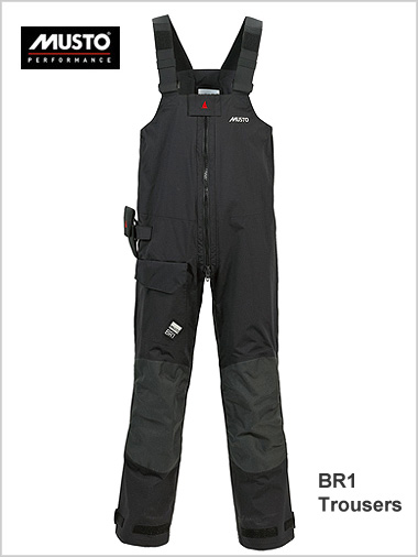 BR1 Trousers - Black