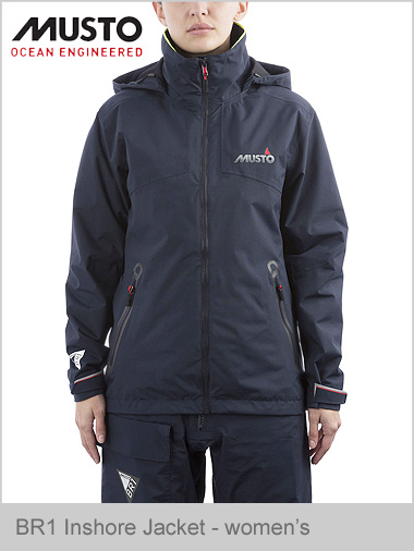 BR1 NEW Inshore jacket - ladies