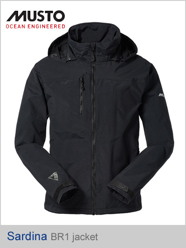 Sardinia BR1 jacket - black (only XL now left)