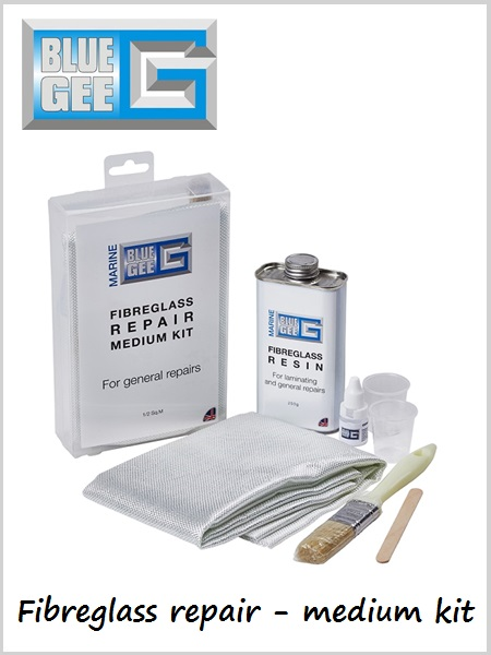 Fibreglass repair kit - medium