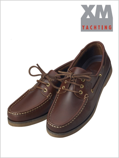 Crew shoe - dark brown
