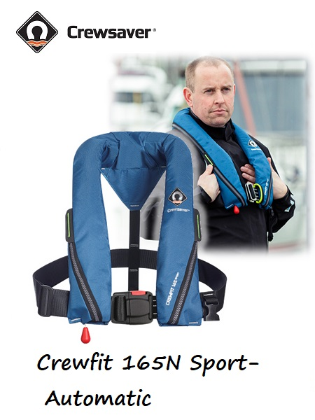 Crewfit 165N Sport - Automatic blue