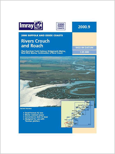 Charts: 2000.9 River Crouch & Roach