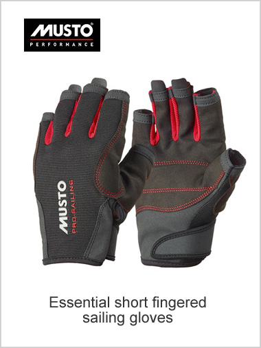 SHORT finger Essential sailing gloves