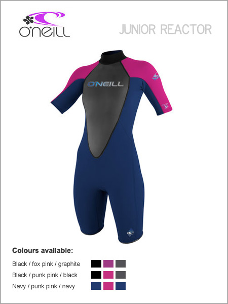 Girls Reactor 3/2 Spring wetsuit (shorty) - Youth