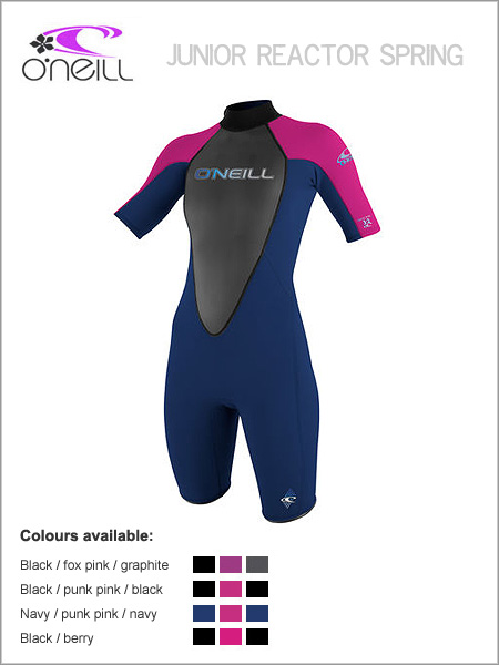 Girls Reactor Spring wetsuit (shorty) - Youth