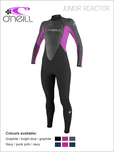 Girls Reactor 3/2 Full wetsuit - Youth