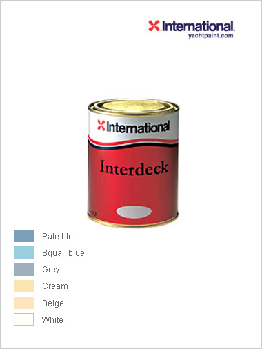 Interdeck - non slip topcoat 750ml