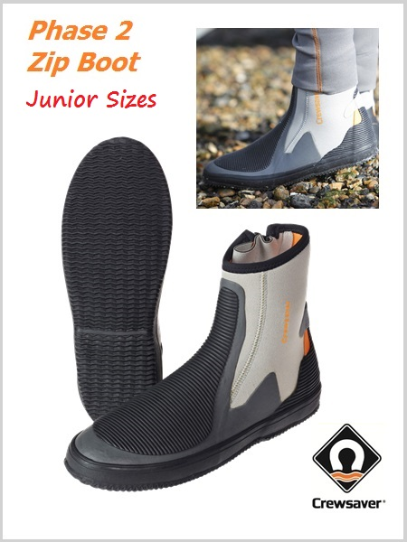 Phase 2 zip boot Junior sizes