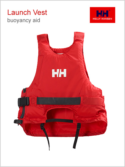 Launch vest buoyancy aid