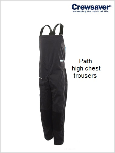 Path High Chest trousers