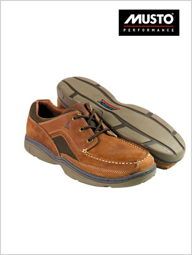 Leather Performance Deck Shoe (only 10.5 now left)