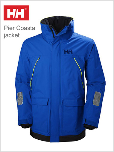 Pier Coastal jacket blue