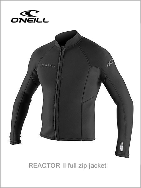 Reactor II full zip neoprene jacket