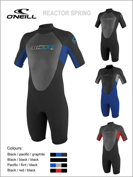 Reactor Spring wetsuit (shorty)