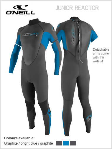 Reactor 3/2 Convertible wetsuit (age 8) - Youth