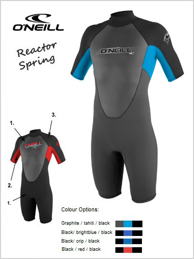 Reactor Spring wetsuit (shorty) - Youth
