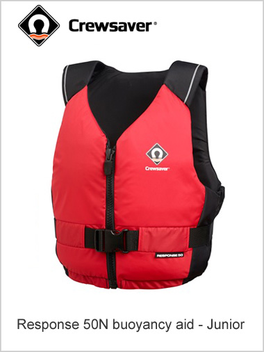 Response 50N NEW buoyancy aid  - Junior (red)