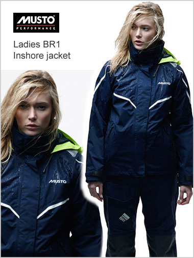 BR1 Inshore jacket - ladies