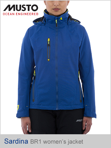 Sardinia BR1 Women's jacket - surf blue