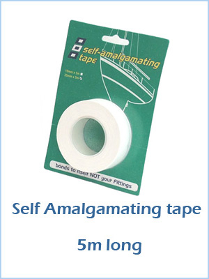 Self Amalgamating Tape - 5m long White