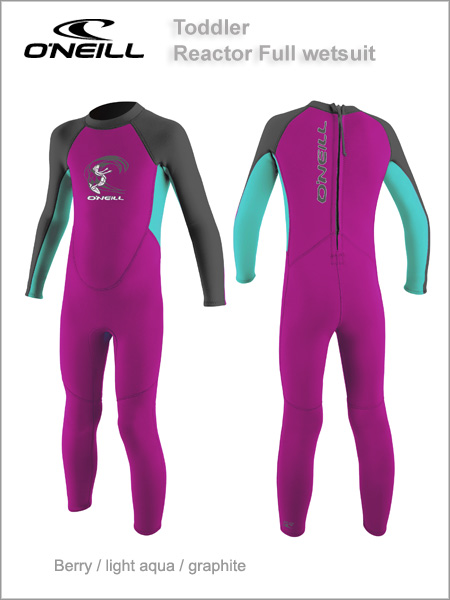 Reactor Full wetsuit Toddler - berry