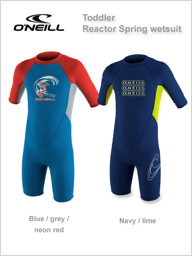 Toddler Reactor Spring wetsuit (shorty) - unisex