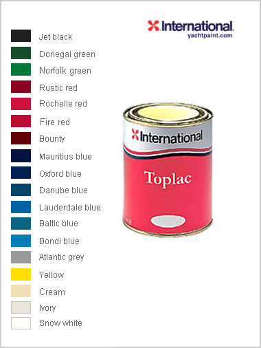Toplac - topcoat paint 750ml