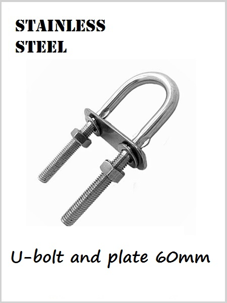 Stainless Steel U Bolt & plate