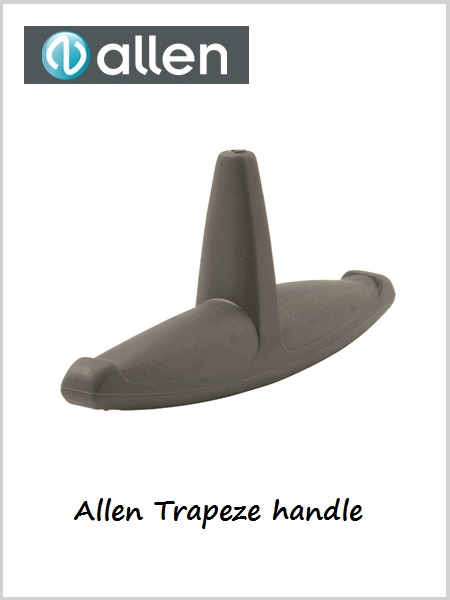 Allen trapeze handle - grey