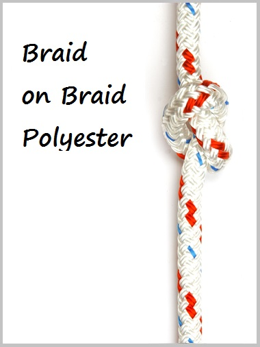 10mm Braid on Braid Polyester