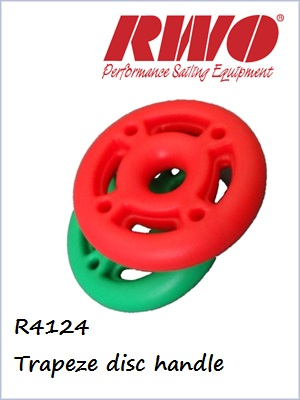 Trapeze Disc handle R2124 (pair)