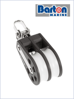 Double swivel block (max 8mm)
