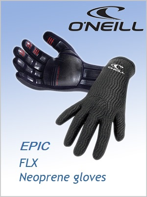 O'Neill Epic FLX gloves - 2mm Neoprene