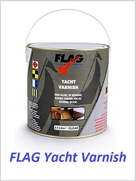 FLAG Yacht Varnish - 1litre