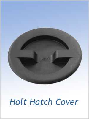 Holt Hatch Inspection covers (screw in) - Small Black or white