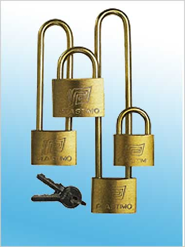 Marine Padlock 40mm brass