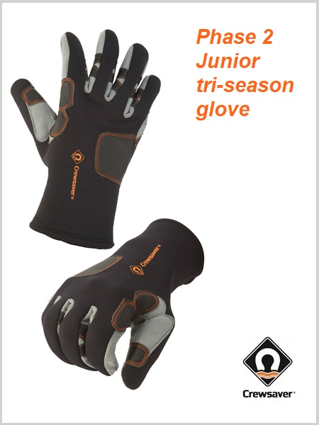 Phase 2 Junior Tri Season gloves