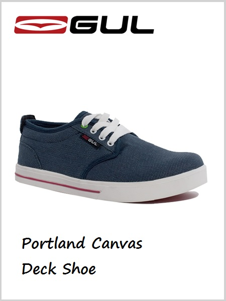 Portland Canvas Deck Shoe - Women