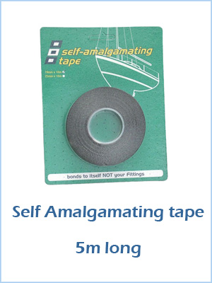 Self Amalgamating Tape - 5m long Black