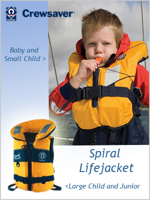 Spiral 100N Lifejacket (baby - large child sizes)