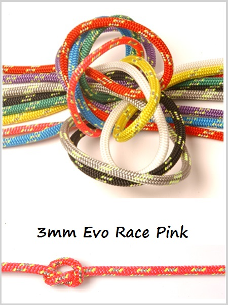 3mm - Evo Race Dyneema (Pink)