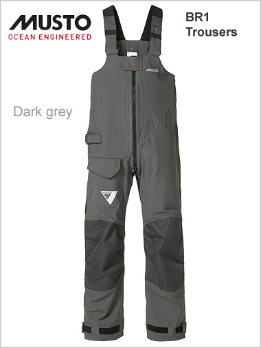 BR1 Trousers - Dark grey
